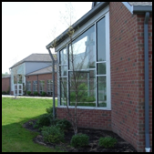 Middle School Building Image